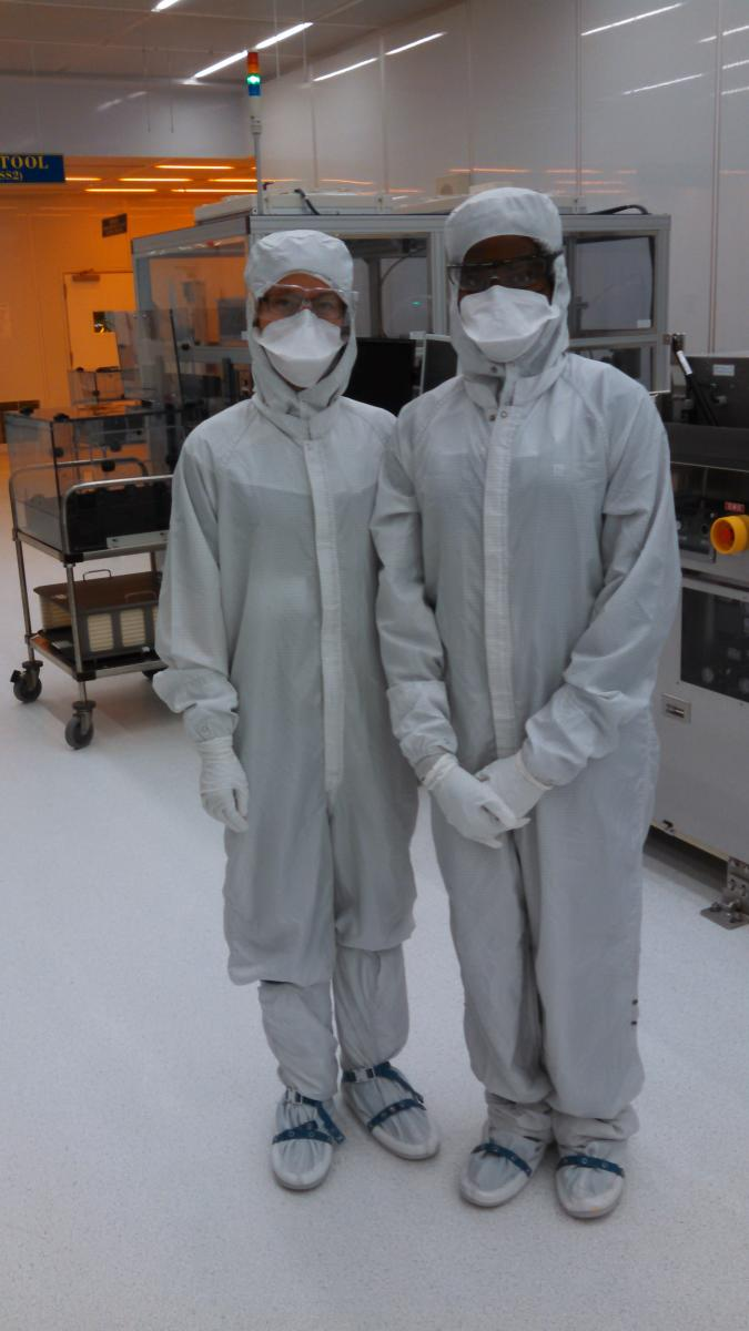 Avila pictured here onsite at Perkin Elmer with Engagement Manager, Serena Mau