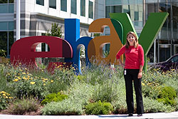 Megan Rast (UC Berkeley) spent her summer helping eBay manage energy use and carbon output.