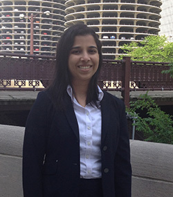 Supraja Sudharsan at the 2014 training in Chicago